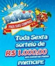 Promoção Baklizi Natal 2019 Paga Suas Compras - Mil Reais Toda Semana