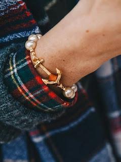 bijoux ancre femme