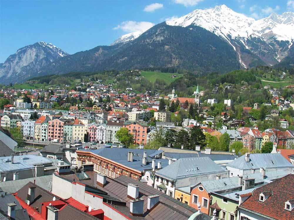 #Innsbruck, Cidade da Áustria