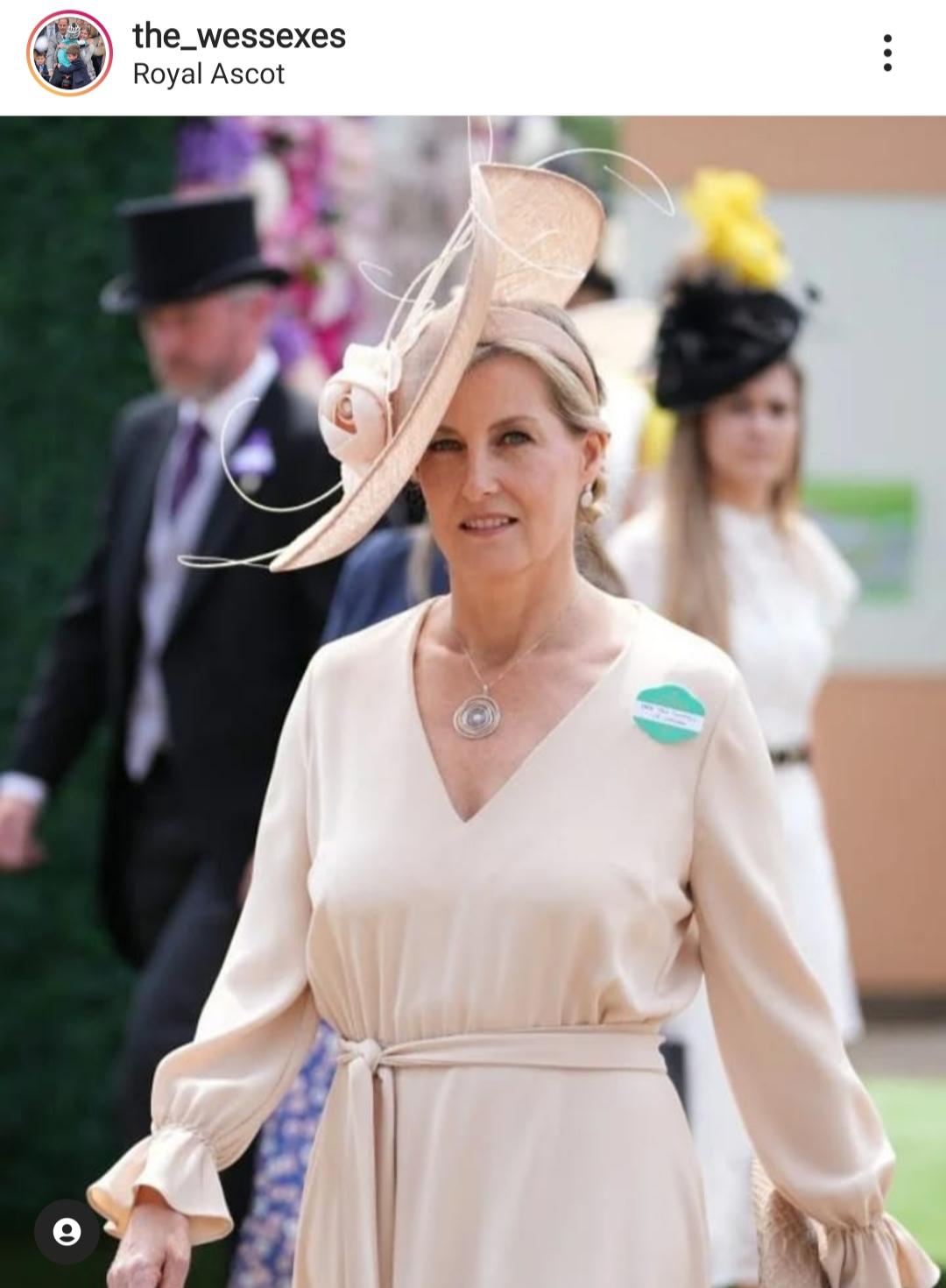 Hrabina Sophie na Royal Ascot 2021