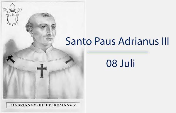 Santo Paus Adrianus III