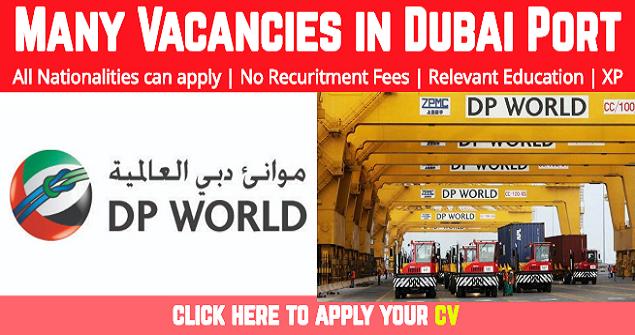 Latest Job Vacancies In DP World Dubai