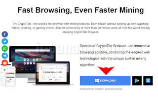 Cara nambang bitcoin pemula menggunakan browser