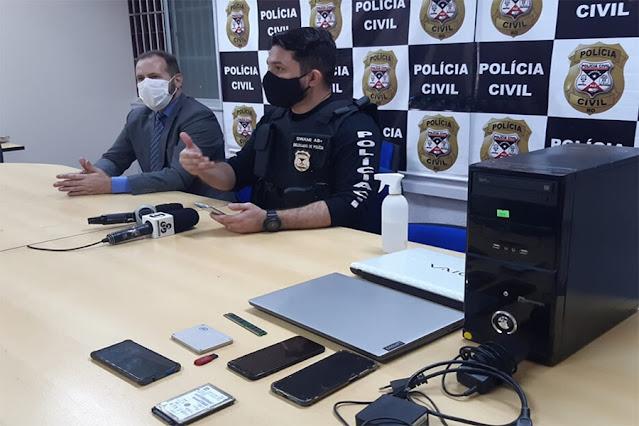 Polícia de Rondônia cumpre mandados em operação contra quadrilha de pirataria online