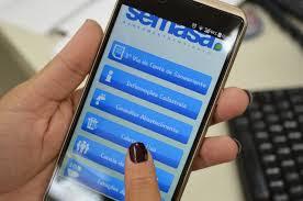 """App da Semasa informa período de """"falta d´água"""" para manutenção da rede"""