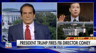 Krauthammer: 'Highly Implausible' To Claim Comey Was Fired for How He Handled Clinton Investigation