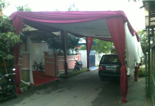 Siap - Siap Kena Sanksi Berat, Jika BERANI Pasang Tenda Pernikahan Di Jalan Raya...