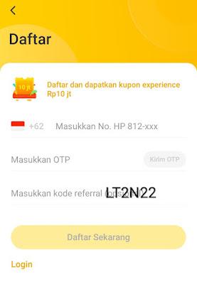 Terbaru Cara Daftar Aplikasi Neo+ Plus dengan Kode Undangan Referral LT2N22 dan Trik Berhasil Unggah Foto Pengundang