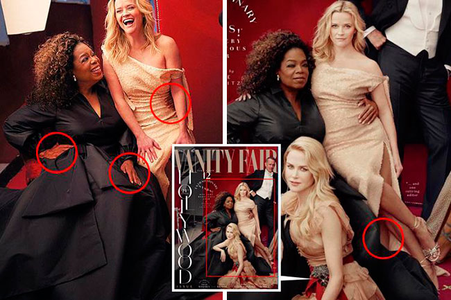 Vanity Fair Hollywood Issue 2018 Fails
