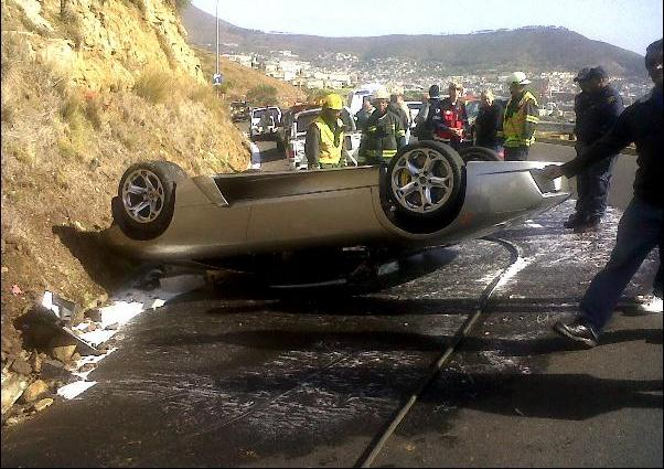 Supercars Wrecked In South Africa