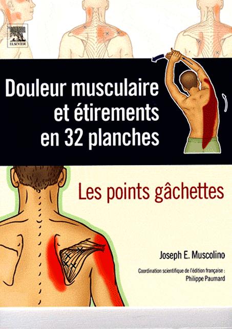 Douleurs musculaires et étirements en 32 planches - WWW.VETBOOKSTORE.COM