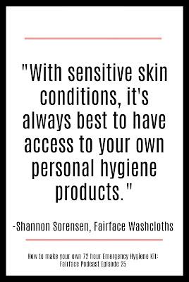 sensitive skin hygiene kits