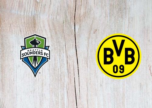 Seattle Sounders vs Borussia Dortmund -Highlights 18 July 2019