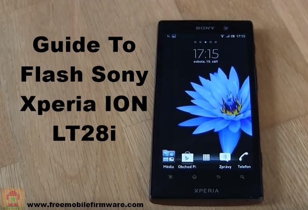 Sony Xperia ION LT28i Jelly Bean 4.1.2 Tested Firmware