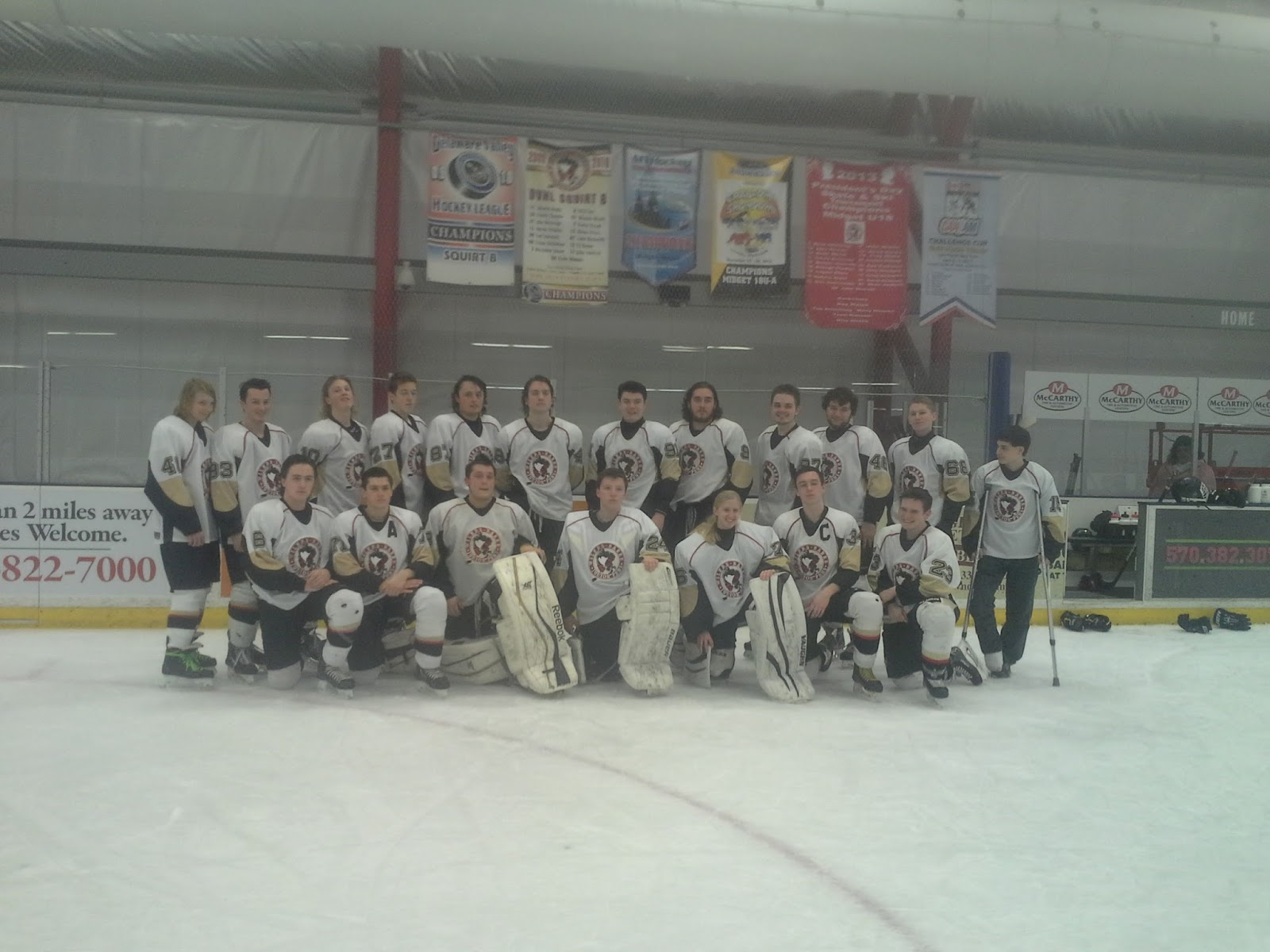 Riverside Park Ice Rink Local Hockey News