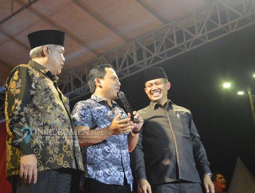 Band Wali Meriahkan Malam Tasyakuran Pelantikan Wabup Kebumen