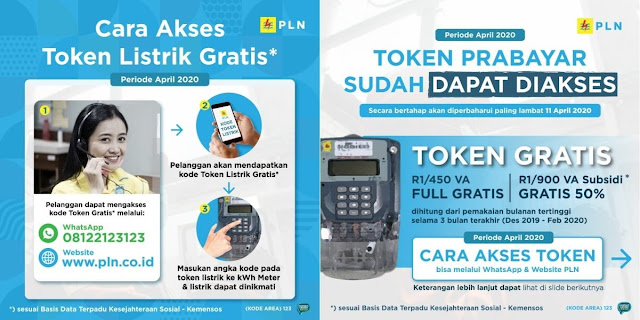 token listrik gratis dari pln