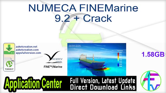 NUMECA FINEMarine 9.2 + Crack
