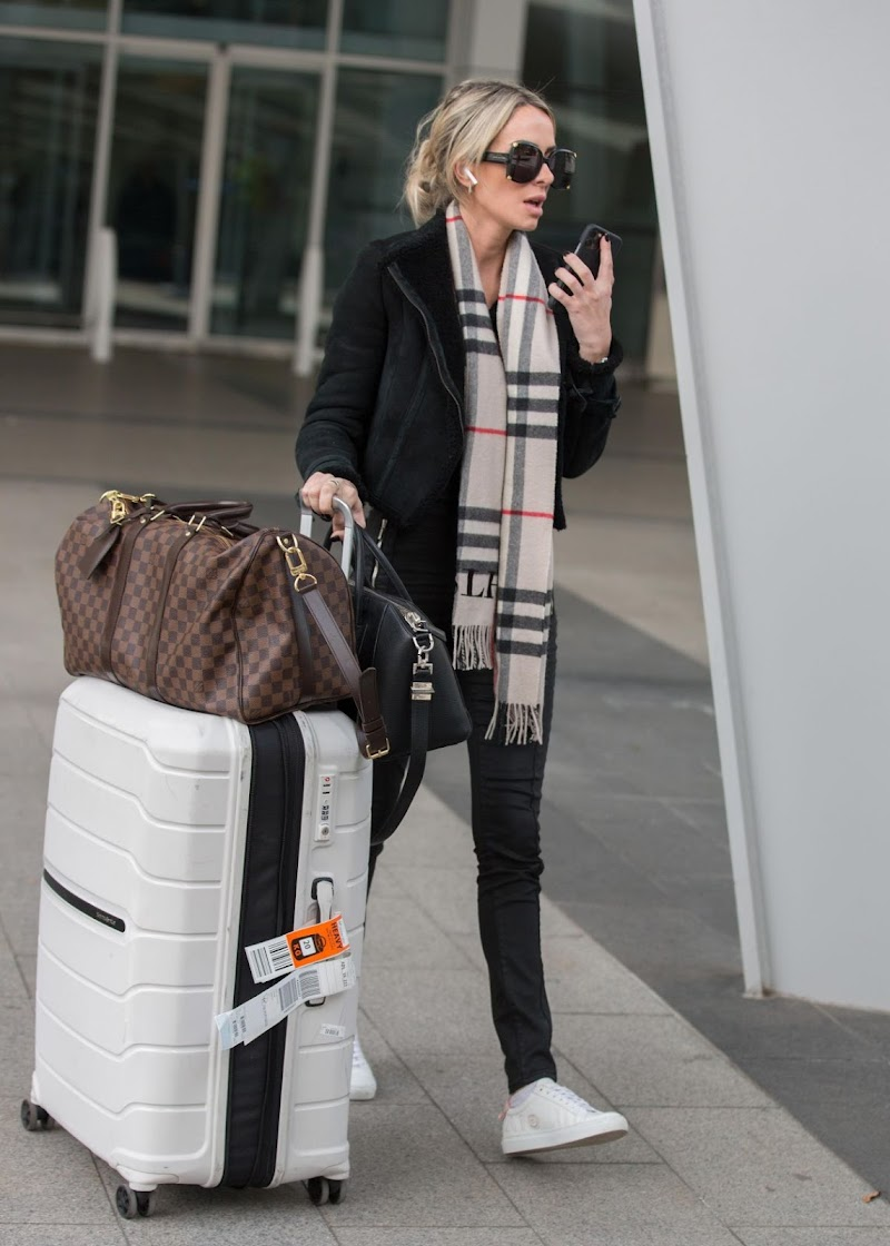 Stacey Hampton Arrives in Adelaide 6 May -2020