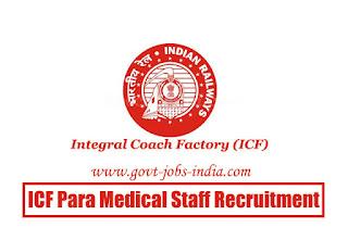 ICF Para Medical Staff Recruitment 2020