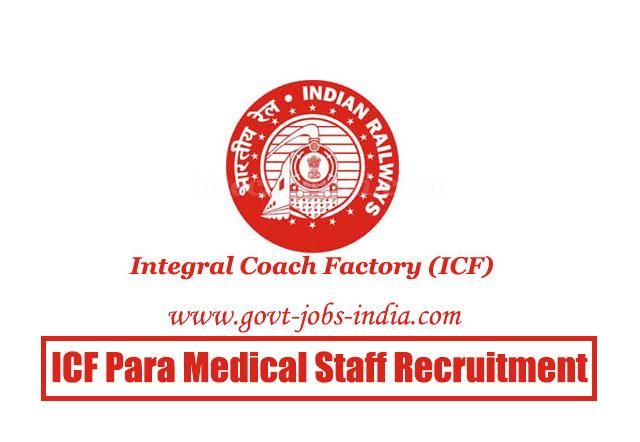 ICF Para Medical Staff Recruitment 2020 – 62 Doctors & Para Medical Staff Vacancy – Last Date 17 May 2020
