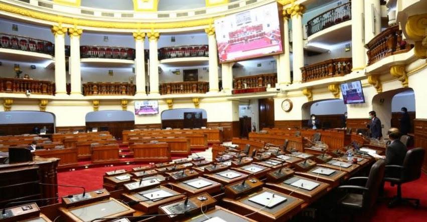 CONGRESO DE LA REPÚBLICA: Aprueban ley que establece impedimentos para postular a cargos de elección popular