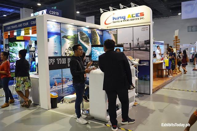 King Aces Travel & Tour Service Inc. Exhibit Booth