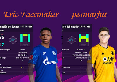 PES 2020 Faces Matondo & Pedro Neto