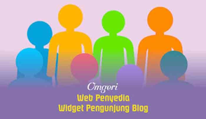 Web Penyedia Widget Pengunjung Blog