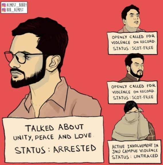 उमर खालिद की गिरफ़्तारी से लोक गुस्से में क्यों है? लोगो ने कोनसे सबुत दिए और पुलिस को घेरा