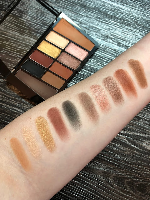 Wet N Wild My Glamour Squad Palette Review and Swatches (Soft Glam Dupe)