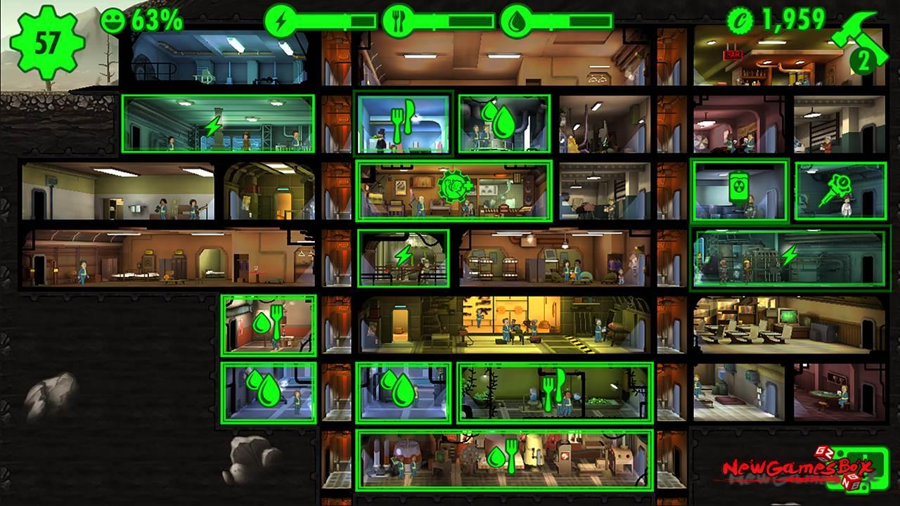 Fallout shelter игра пк