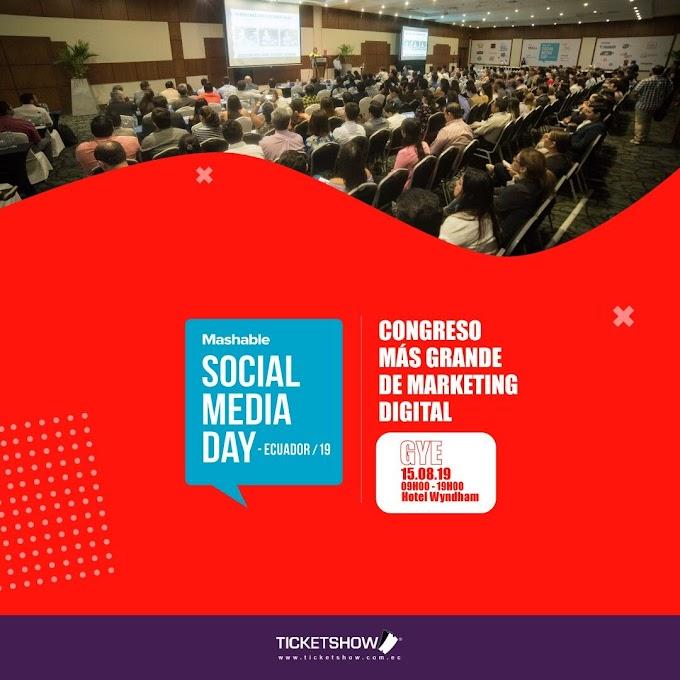 El Social Media Day vuelve a Guayaquil