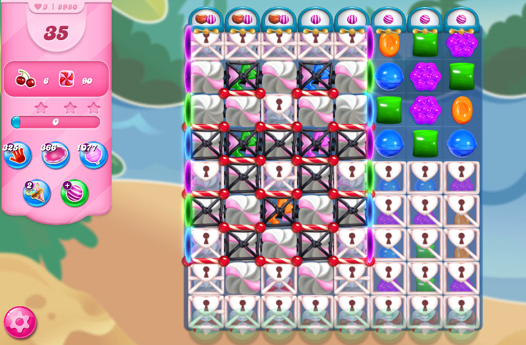 Candy Crush Saga level 8980