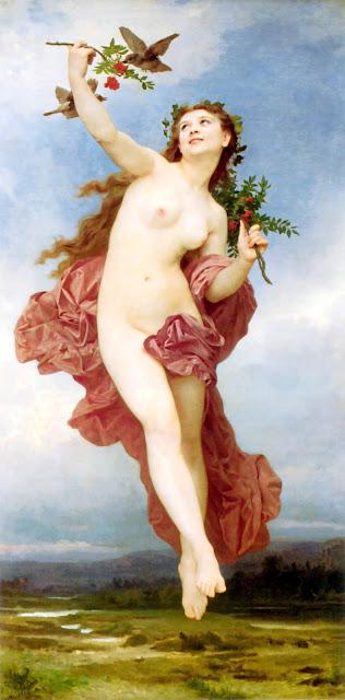 Адольф Вильям Бугро - День (1884)