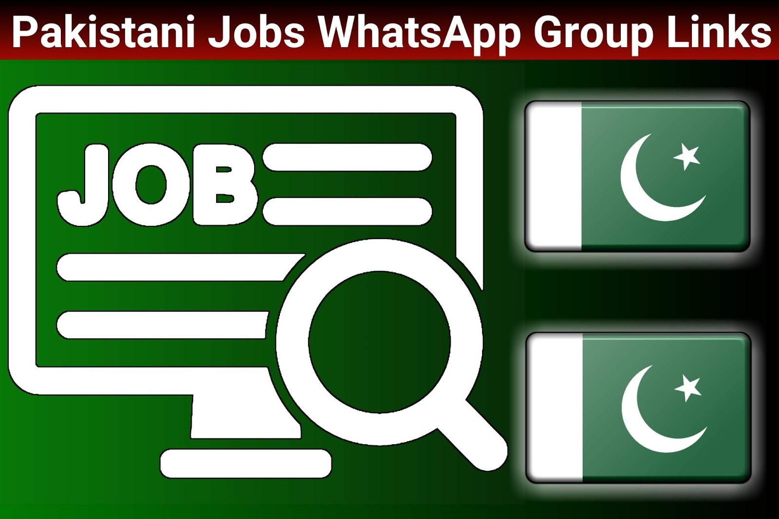 Pakistan Job WhatsApp Group Link - Join Pakistan WhatsApp Group
