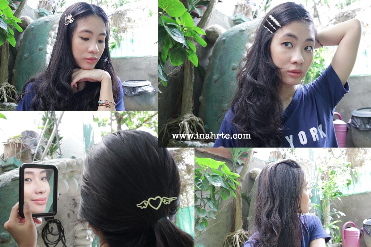 inahrte | hair clip photoshoot creative ideas