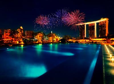 Ulasan Hotelspore mengenai hotel-hotel di Singapore untuk malam tahun baru.