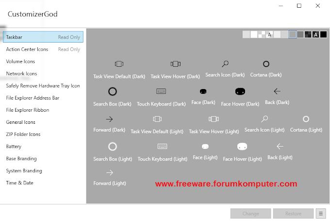 Download CustomizerGod Untuk Windows 7, 8 Dan 10