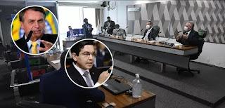 CPI vai acionar STF contra Bolsonaro por crime de prevaricação, anuncia Randolfe