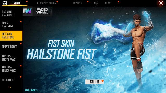 Event Free Fire untuk mendapatkan skin senjata free fire gratis
