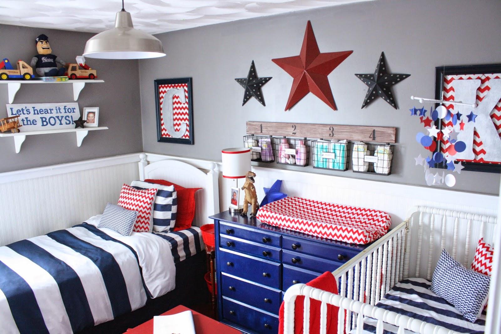 Boys Room: Fearfully & Wonderfully Made: Shared Boys' Room/Nursery Reveal