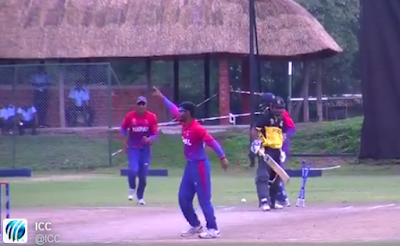 nepali cricket team,dipendra sing airee,paras khadka