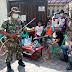 Sertu Sugiyanto Pelopori Penyemprotan Disifektan di Warga Binaannya