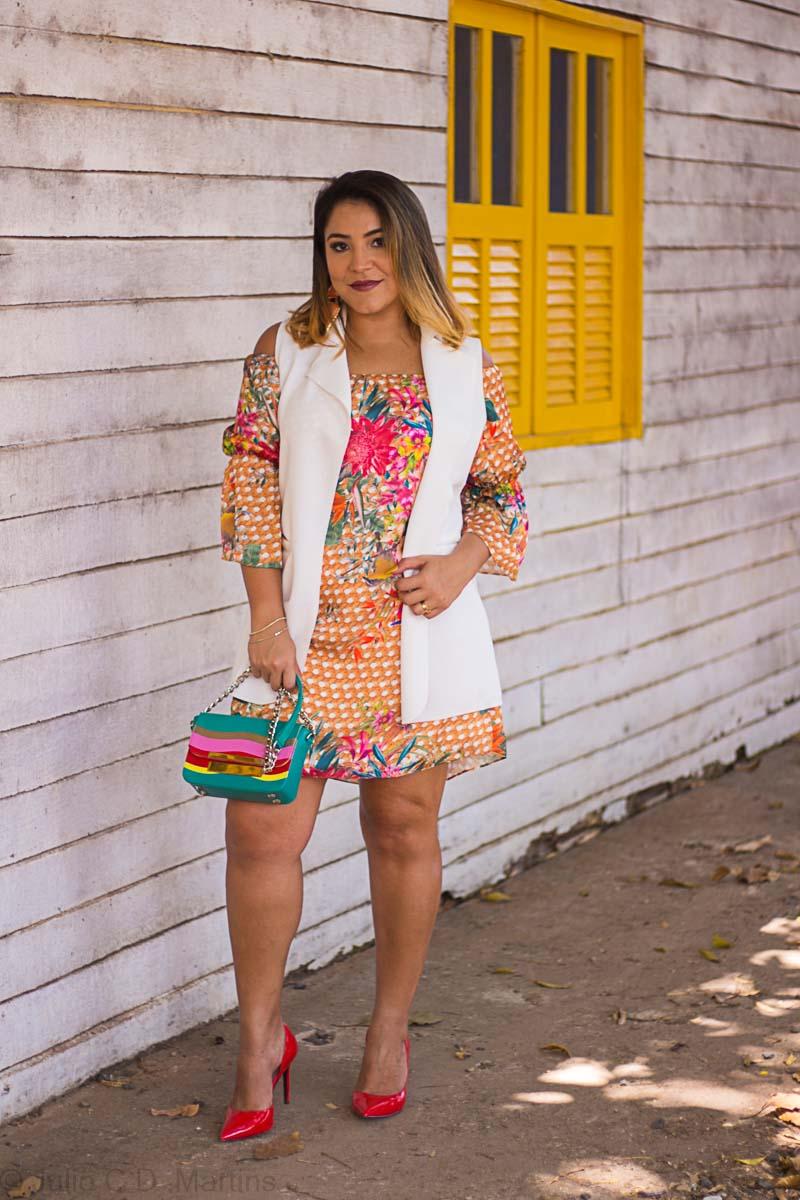 Um vestido, dois looks! Minha Nossa e Sustentabilidade em Brasíia