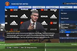 Manchester United Press Room 2019 For - PES 2017