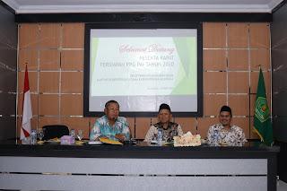 Seksi PAIS Kemenag Kab. Majalengka Gelar Rapat Persiapan PPG PAI 2020