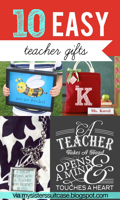 4 Year Boy Bedroom Decorating Ideas: 10 Easy Teacher Gift Ideas