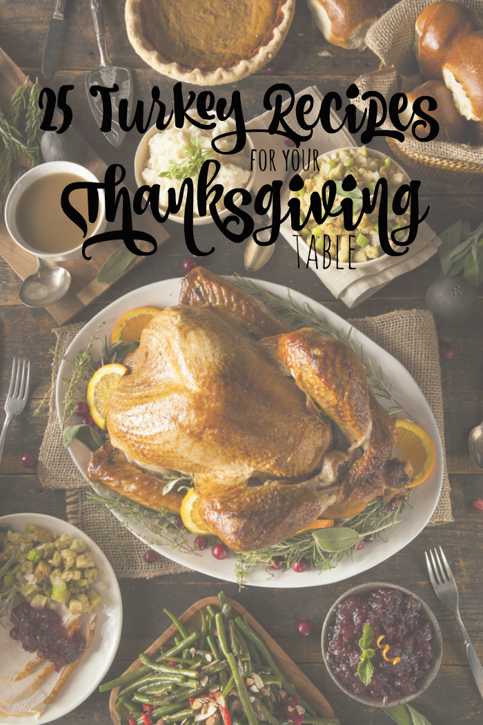 25 Turkey Recipes for your Thanksgiving Table