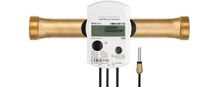 energy management meter btu meter ultrasonic inline thermal energy meter